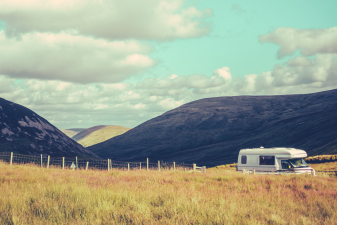 Motorhome Or RV Holiday