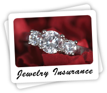 Make sure your jewelry is insured on your homeowners insurance policy